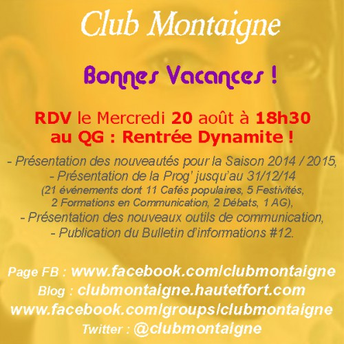 club montaigne, club montaigne dijon, jbelaud, james belaud, james belaud dijon, bilan saison, bilan club Montaigne
