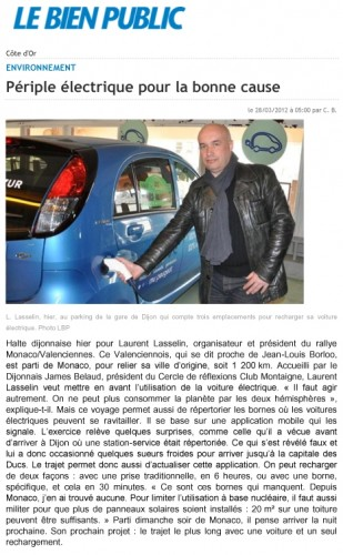 Article Le Bien Public Laurent Lasselin - James Belaud 280312.jpg